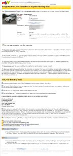 Scammer Michael Wilson And His Fake Ebay Invoice Scammer Database